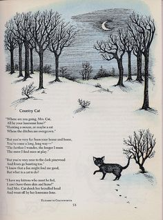 country cat    Illustration by Joan Walsh Anglund (My favorite illustrator as a child)