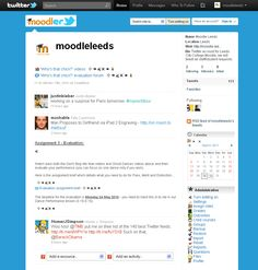Moodle Moodler Twitter Moodle How To Become, College, Names, Messages, Technology, Education, Learning, Twitter, Tips