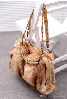 017c5689a877 Women'S Handbag Faux Fur Bags Velvet Shoulder Cross Body Bags Leather Purses  Cheap Designer Handbags From Dress_wholesales, &Price;  DHgate.Com