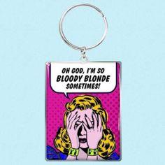 Nøkkelring Blonde