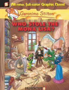 Who Stole the Mona Lisa? (cover book - Geronimo Stilton) [Gianluigi Fungo] (Gioconda / Mona Lisa)