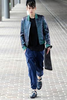 Menswear trend for Spring/Summer 2014: the bomber jacket
