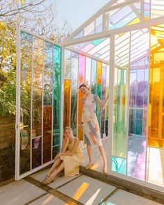 Heather Taylor, Glass Closet Doors, Sparks Joy, Rainbow Aesthetic, Pleated Fabric, Natural Face, Cabin Homes, Nature Images, Beautiful Buildings