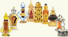 The rich sent of Oud, traditional Arabian perfume