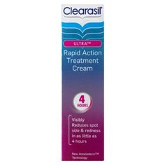 Clearasil Ultra Rapid Action Treatment Cream 25ml has been published at http://beauty-skincare-supplies.co.uk/clearasil-ultra-rapid-action-treatment-cream-25ml/