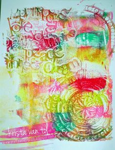 Addicted to Gelli? yep.... The Gelli Plate that is!  If you don't already have one you must treat yourself to one of these amazing art printing plates!    These beautiful prints can be made into cards, used as art journal backgrounds, or simply framed as is!   For more info about the Gelli Plate check out their Youtube channel.  I have more projects to post, they'll be coming soon!