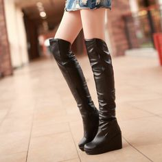 high heel #winter #fashion #boots