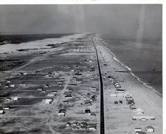 OBX 1960. Must have looked like this when my parents honeymooned here in 1959.