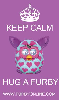 Hug a Furby:) #furbyboom