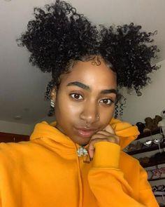 GHAIR virgin human hair kinky curly frontal and for black women Baddie Hairstyles, Black Girls Hairstyles, Cute Hairstyles, Braided Hairstyles, Hairstyle Ideas, Curly Tumblr, Curly Hair Styles, Natural Hair Styles, Edges Hair