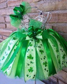 Shamrock I Tutu Perfect for St. Patrick's Day by AThingOrTutu