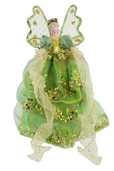 Tree Topper Lime Green Angel