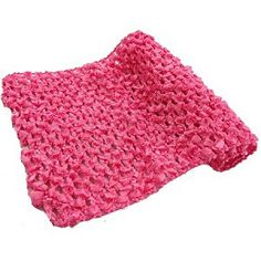 5.5'' Elastic Crochet - By The Yard - Pink