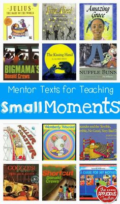 The Applicious Teacher: Small Moments for BIG Impact in Writings (includes books and writing pages)