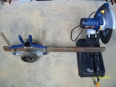 Metal Chop Saw Clamp