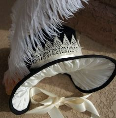Jane Austen Bonnet by AugmentedAusten on Etsy, $95.00