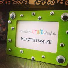 DIY Monster Frame Kit by CoutureCraftStudio on Etsy, $13.00