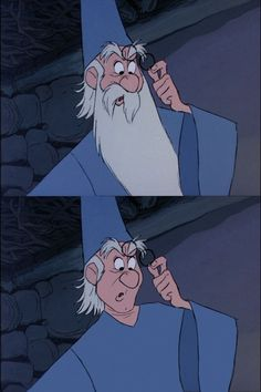 Merlin — The Sword in the Stone | Disney Men Without Beards Is Hilarious