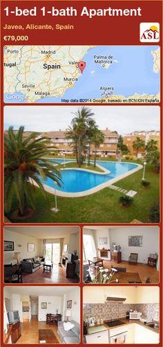 1-bed 1-bath Apartment in Javea, Alicante, Spain ►€79,000 #PropertyForSaleInSpain