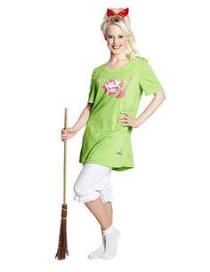 Bibi Blocksberg Hexe Damenkostüm Lizenzware bunt, aus unserer Kategorie Film- & Promikostüme. Wohl jeder kennt die kleine Hexe Bibi Blocksberg! Doch mittlerweile ist sie zu einer stattlichen Dame herangewachsen, die ihren Besen besser fliegt als je zuvor! Ein fantastisches Kostüm für Fasching und Mottopartys!