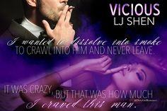 Vicious (Sinners of Saint 1) by L.J. Shen #DirtyGirlRomance