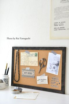 セリアの転写シールでコルクボードがワンランクアップ!|写真で思い出溢れる暮らし- 福岡のフォトスタイリング&写真教室 Petit Works-プチワークス-