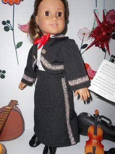 Mariachi charra suit traje black gabardine silver trim for American Girl doll Cinco de Mayo handmade Mariachi Suit, Lace Up Boots, American Girl, Cold Shoulder Dress, Dress Up, Suits, Silver, Cotton, Jackets