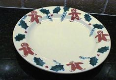 Hartstone Gingerbread Dinner Plate New. Made in U.S.A. #Hartstone