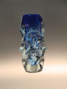 A personal favourite from my Etsy shop https://www.etsy.com/listing/504563995/czech-bohemian-skrdlovice-art-glass-blue