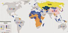 Os sites mais populares em todo o mundo