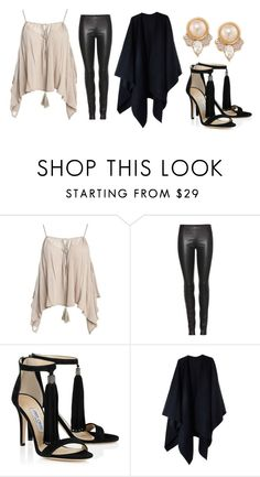 """""""Untitled #354"""" by fashion-xoxo-lari on Polyvore featuring Sans Souci, The Row, Acne Studios and Carolee"""
