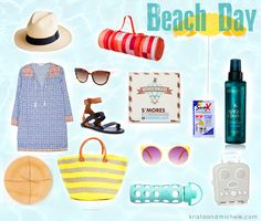Essential #beach gear to take with you this #summer! #pool #wishlist