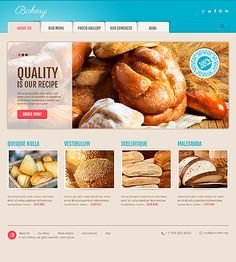 Tasty Template: 25 Mouth-Watering WordPress Templates from Bakery to a Restaurant