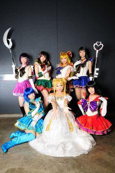 Sailor Moon: Sailor Scouts.