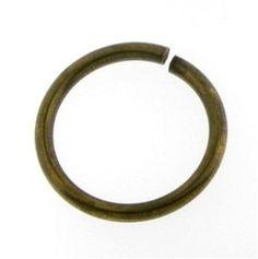 12 Gauge 3/4 20x20mm Antique Brass Bronze by FancyGemsandFindings, $4.95
