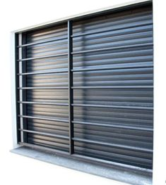 Wooden window blinds as part of a home improvement project Window Grill Design Modern, Window Design, Window Security Bars, Window Protection, Wooden Window Blinds, Burglar Bars, Balcony Grill, Window Bars, Grill Design