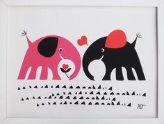 "Image of ""Elephant love"""