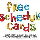 This packet contains cards to display a daily classroom schedule. Cards included: ~Arrival ~Morning Work ~Literacy Block ~Art ~Music ~P.E. ~Compu...