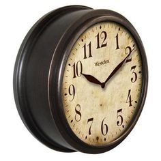"10"""" Deep Classic Wall Clock"