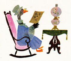 Captain Kangaroo's Sleepytime Book, illustrated by Aurelius Battaglia, 1963.