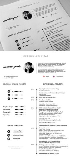 free minimalistic cvresume templates with cover letter template 10 - Simple Resume Templates Free