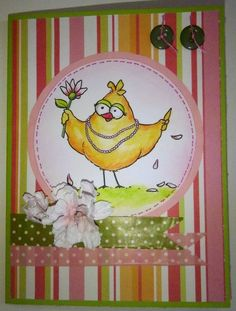 Kika's Designs : Loves Me Birdbrain