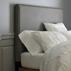 How to Make a Nailhead Upholstered Headboard