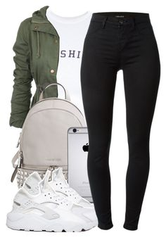 This outfit featuring wildfox, michael michael kors, nike and j brand.