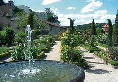 Bastionsgarten auf der Willibaldsburg
