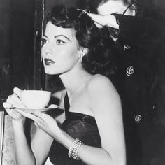 #Coffee - It looks better when you put on your greatest Ava Gardner face and sip with class. So ... how do you take your coffee?  #coffee #ATODMagzBuzz #SipWithStyle