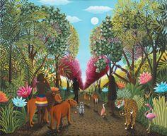 Exposition Hommage au Douanier Rousseau à Soisy s/Montmorency