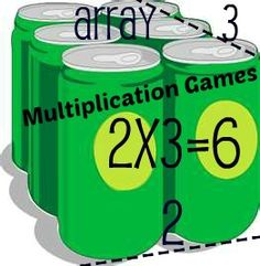 3rd Grade Math Multiplication Games and Activities