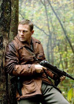 Daniel Craig in Defiance (2008) by Edward Zwick.