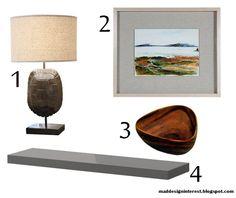 MaDDI: One Kings Lane 30-Day Challenge - Day 15 - Styling Ikea's Lack Shelf